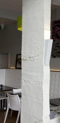 Roughcast Concrete L Wall Panels Interior Design Hamilton New Zealand