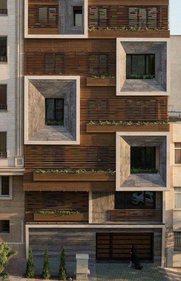 Facade Design. HolzpaneeleFassade HolzHochhausKopenhagenTexturModellFassadenWohnarchitekturZeitgenössische  Architektur