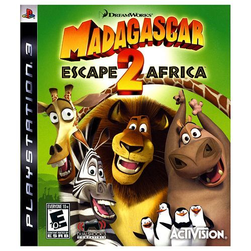 Dreamworks Madagascar Escape 2 Africa For Playstation 3 2999