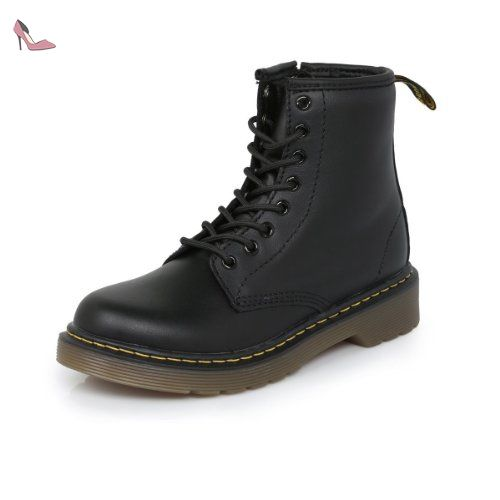ceee64a28ec Dr Martens Infants Delaney Noir Boots-UK 13 Kids - Chaussures dr martens (