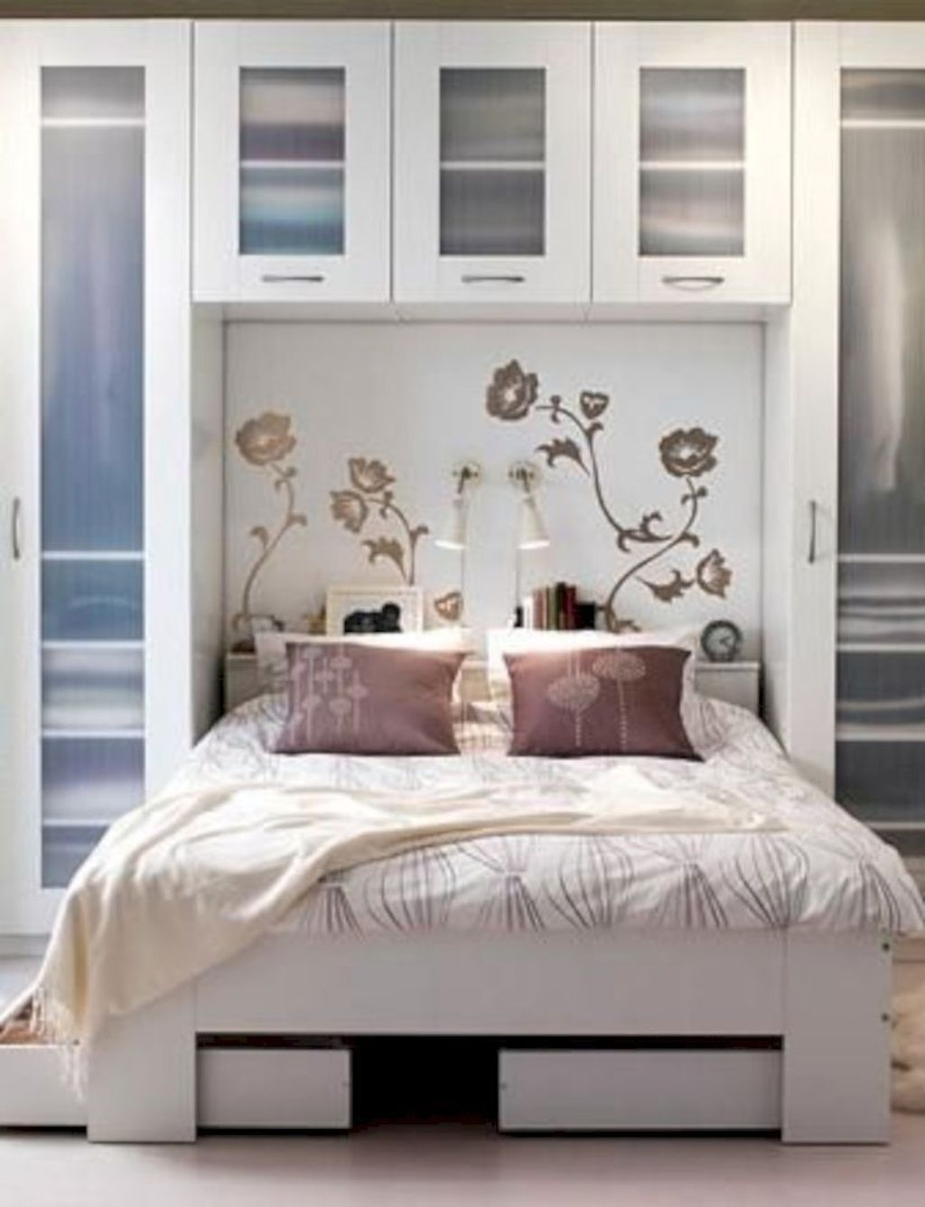 20 Newest Bedroom Storage Design Ideas For Small Space Small