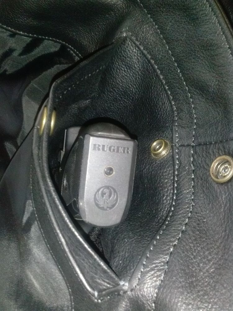 Pin on leather