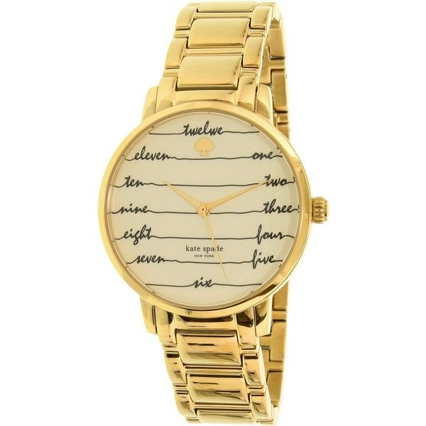kate spade watches Metro Watch 137 liked on Polyvore