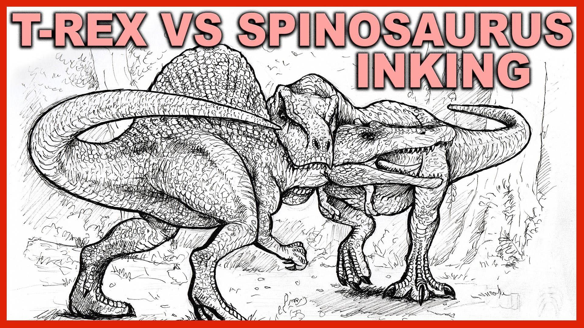 Spinosaurus Vs Ankylosaurus Spinosaurus Vs Red Eye King Spinosaurus Vs Suchomimus Spinosaurus Vs Tyrannos Spinosaurus Dinosaur Coloring Pages Coloring Pages