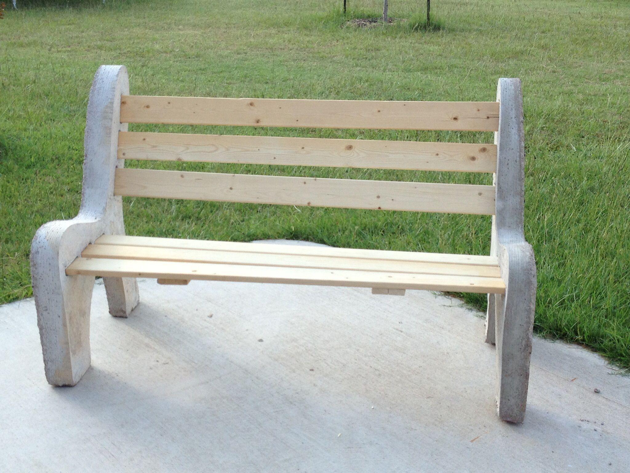 Do It Yourself Concrete Bench Cos Pinterest # Muebles Rotomoldeados