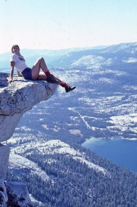 Top of the world....or at least a high rock :-)