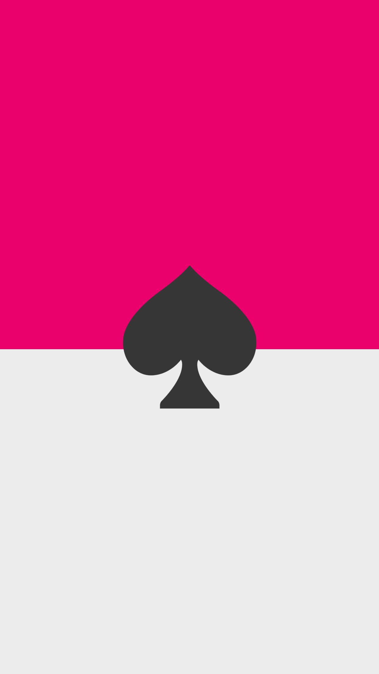 Kate spade hot pink black iPhone Wallpaper Background