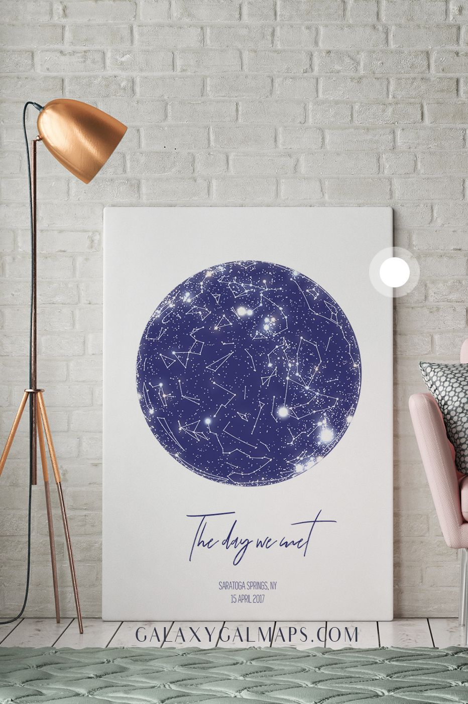 star map of specific date Unique Sky Map For Your Date Custom Night Sky Print Wedding