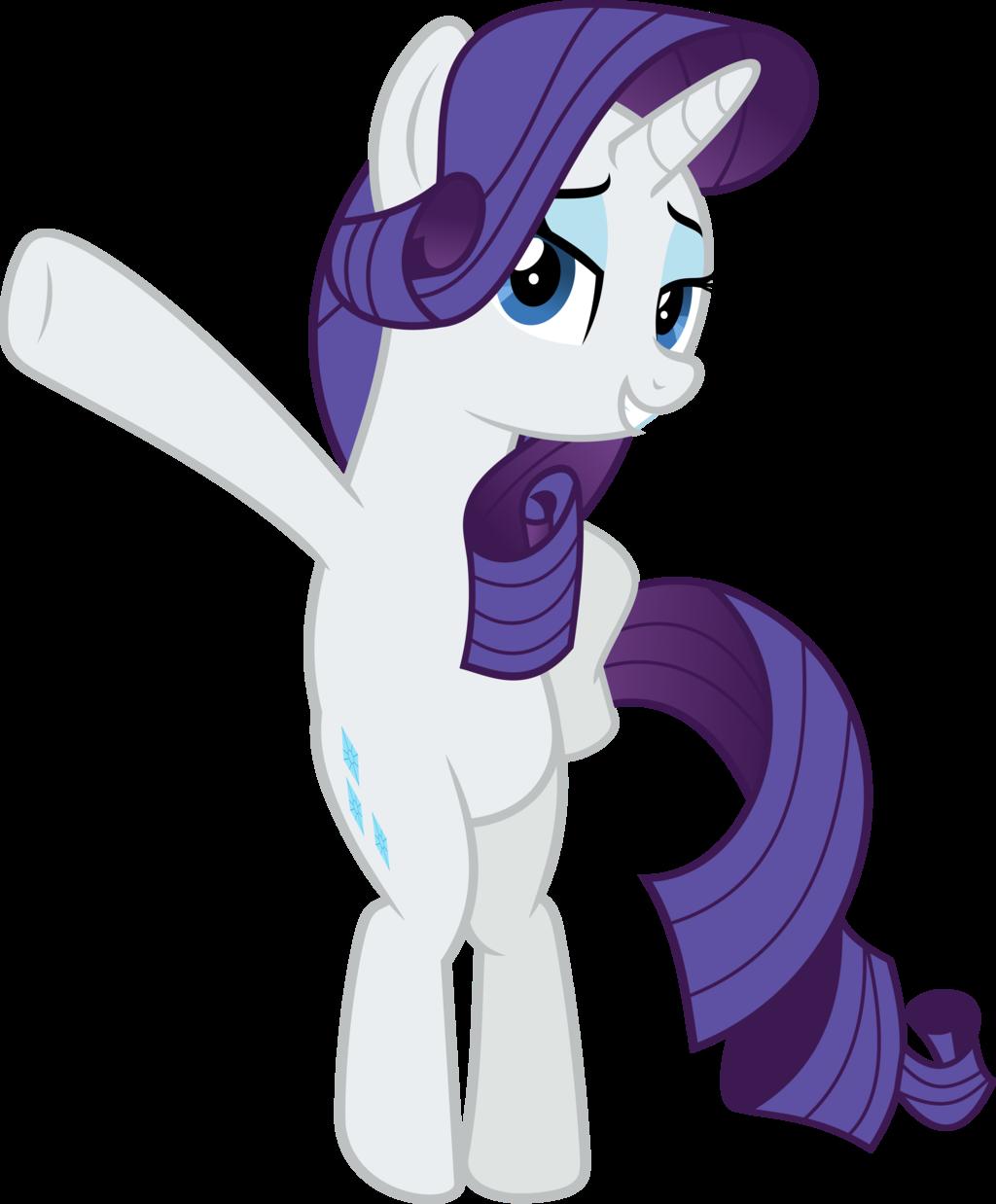 MLP Vector - Rarity #7 by jhayarr23 | My little pony ...