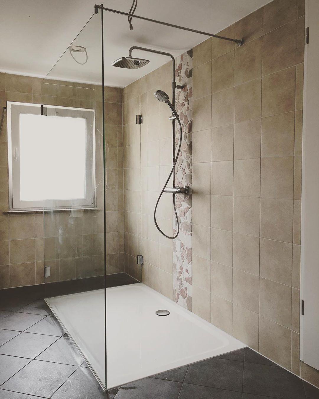 Grosse Zweiteilige Walk In Dusche Multiglas Glaserei Meisterbetrieb Lindhorst Colbitz Genthin Wolmirstedt Barleben Hal Bathtub Bathroom Alcove Bathtub