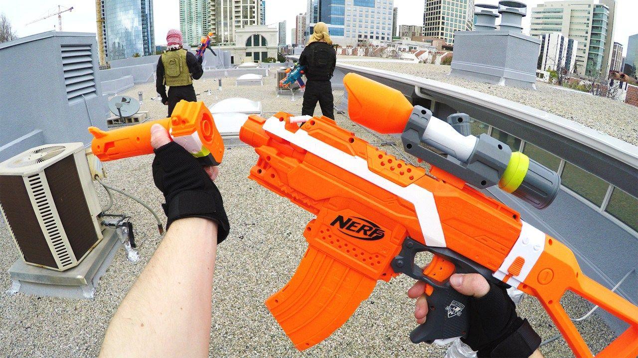 NERF War: Fortnite V-Bucks!