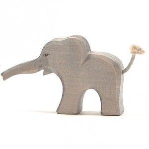 Rutschtier Elefant, Richard Elefanten, Holzfiguren