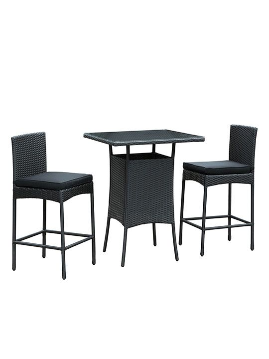 Awesome Maui Outdoor Bar Dining Set Outdoor Furniture Pub Table Best Image Libraries Weasiibadanjobscom