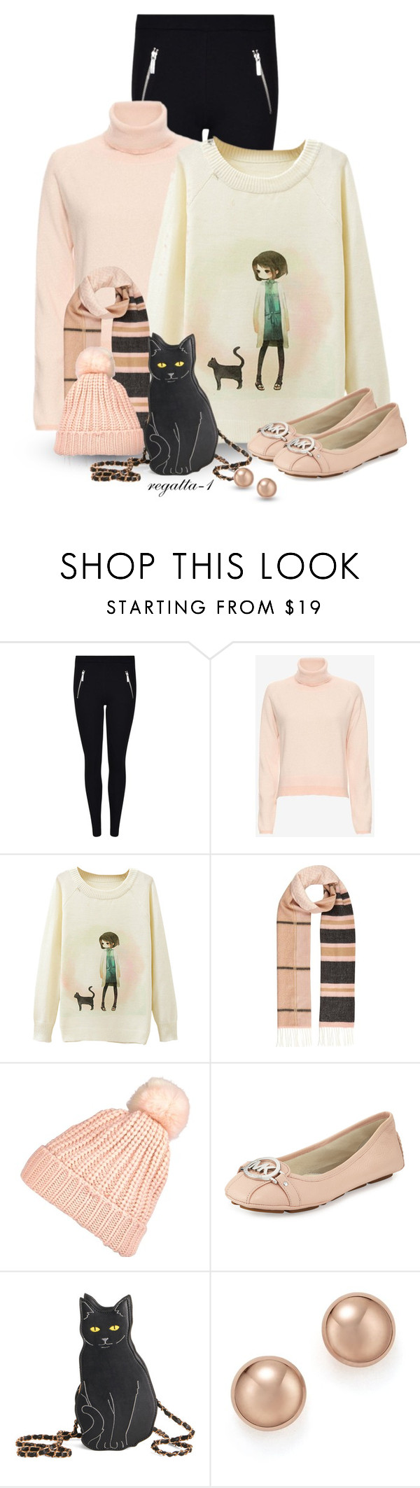 """""""Michael Kors Flats"""" by regatta-1 ❤ liked on Polyvore featuring 10 Crosby Derek Lam, River Island, MICHAEL Michael Kors, Bloomingdale's, michaelkors, flats, cats and polyvoreeditorial"""