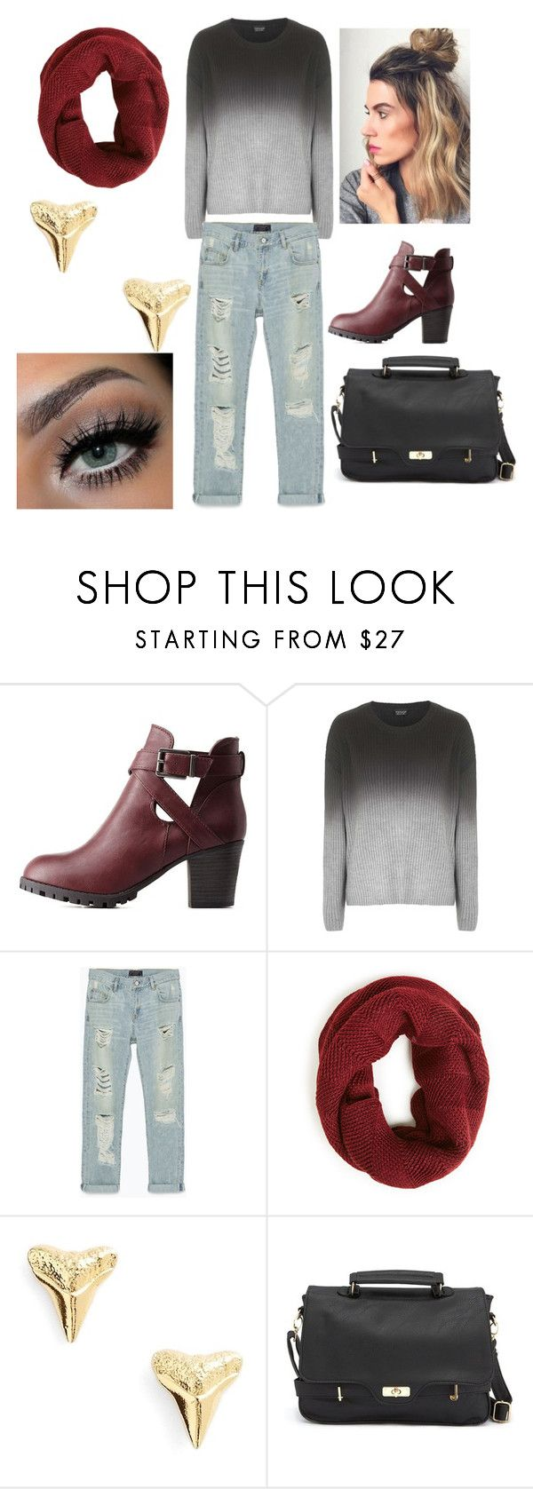 """Ready for Fall"" by snowlady17 ❤ liked on Polyvore featuring Charlotte Russe, Topshop, Zara and ki-ele"