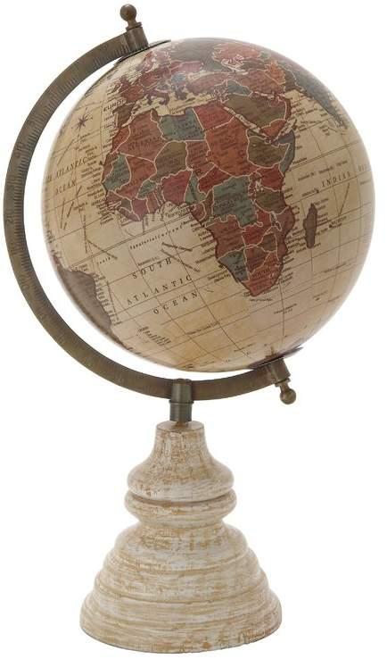 Cole Grey Decorative Pvc Globe Globe Decor Map Wall Decor Globe