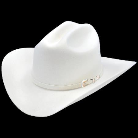 15a174310f Los Estilo de Sombreros-Joan de Altos Vaquero Sentido Hat - 125 dólares  Blancos