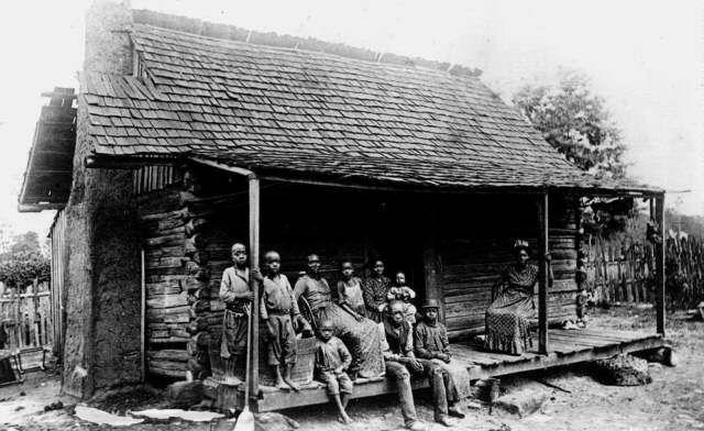 Slave family in South Carolina