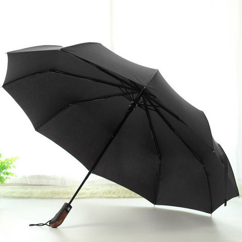 Umbrella Large Long Handle Windproof