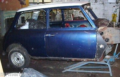 1985 Austin Mini Ritz Blue/white-unfinished Project.   - http://classiccarsunder1000.com/archives/10220