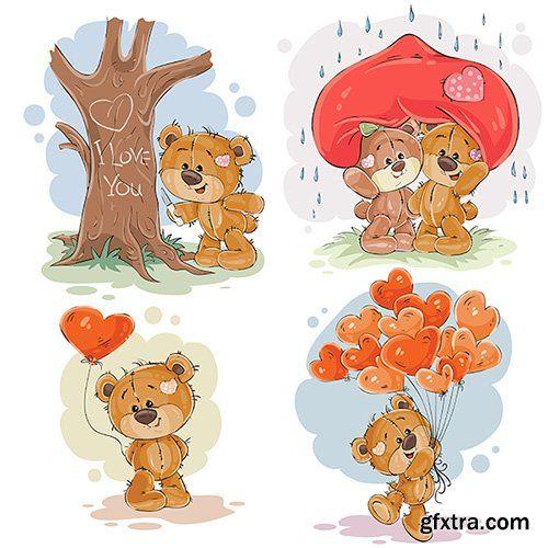 45+ Cute Bear Tailor Clipart