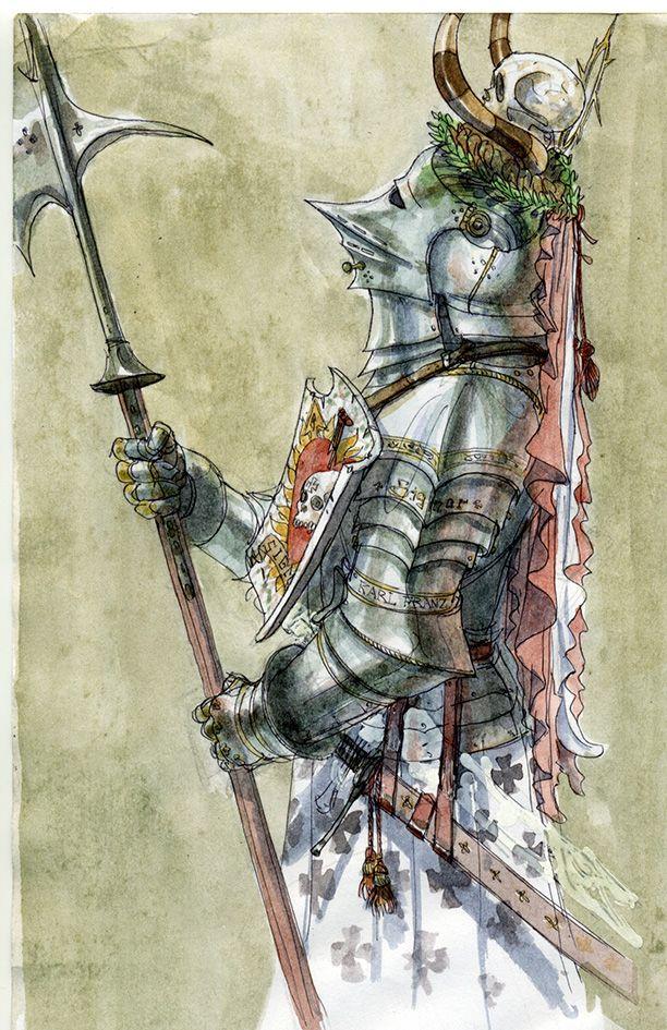 Knight of the Fiery Heart by Rufus-Jr on DeviantArt