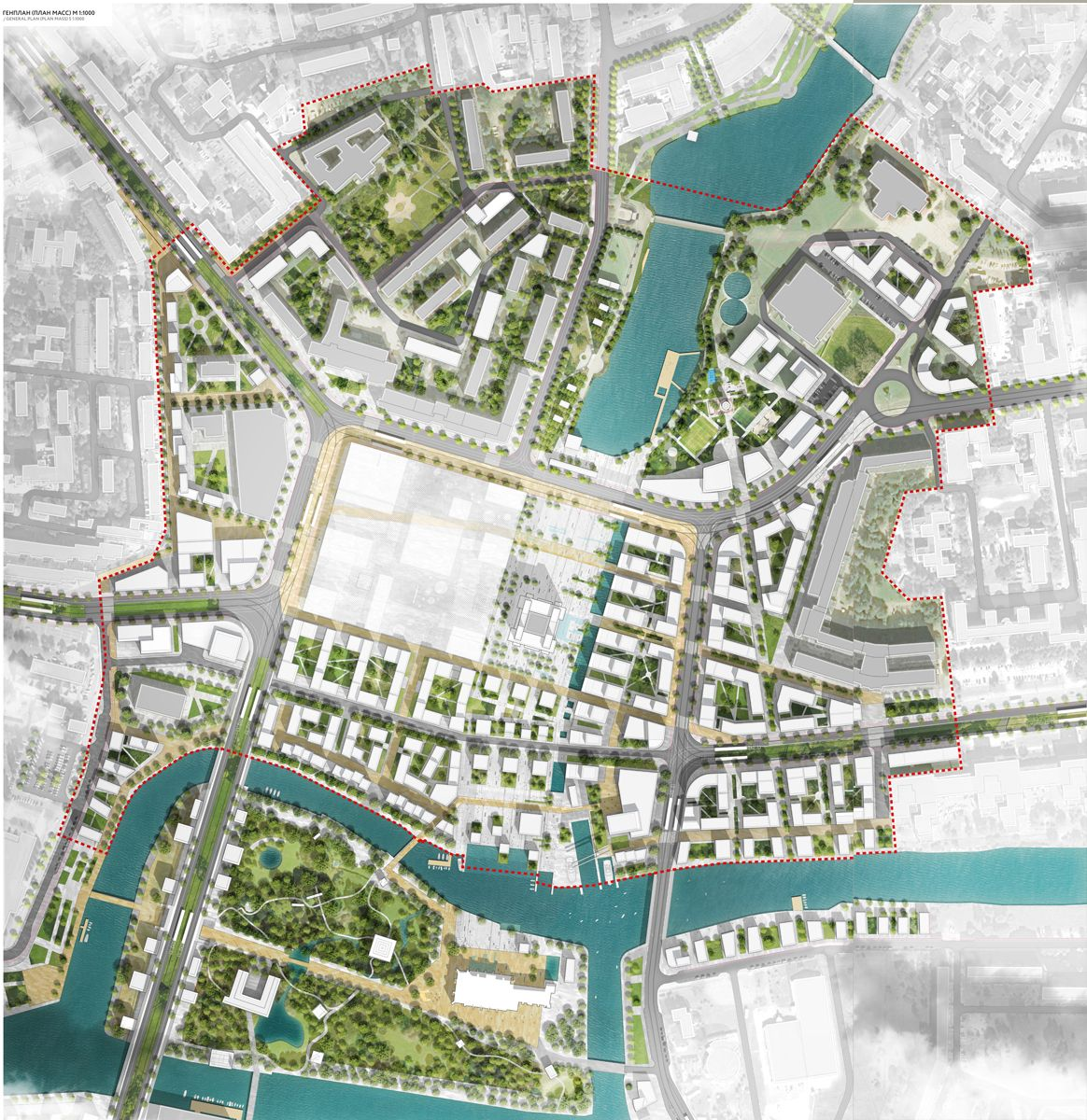 City of kaliningrad devillers associ s off the grid for Architecture design sites