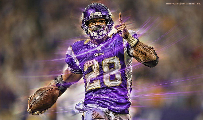 Adrian Peterson Minnesota Vikings