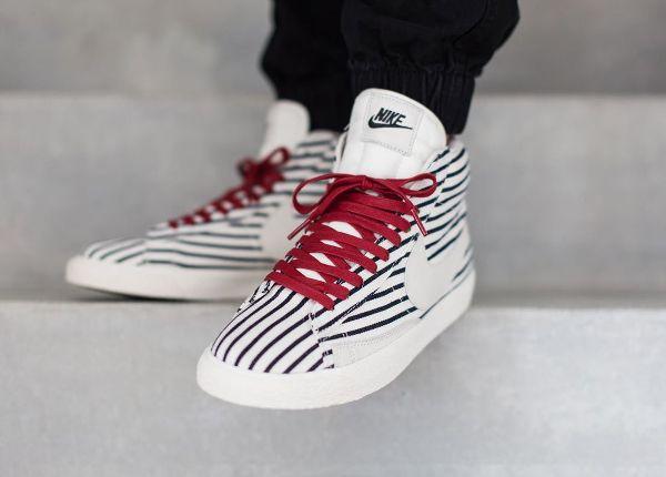 half off 5f0b8 c2674 Nike Blazer Mid Premium Vintage  Pinstripes  post image