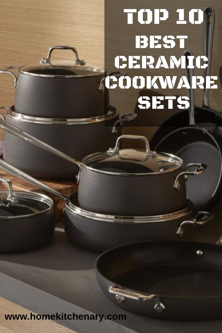 10 Best Ceramic Cookware Set Of 2020 Buyer S Guide Ceramic Cookware Set Ceramic Cookware Cookware Set