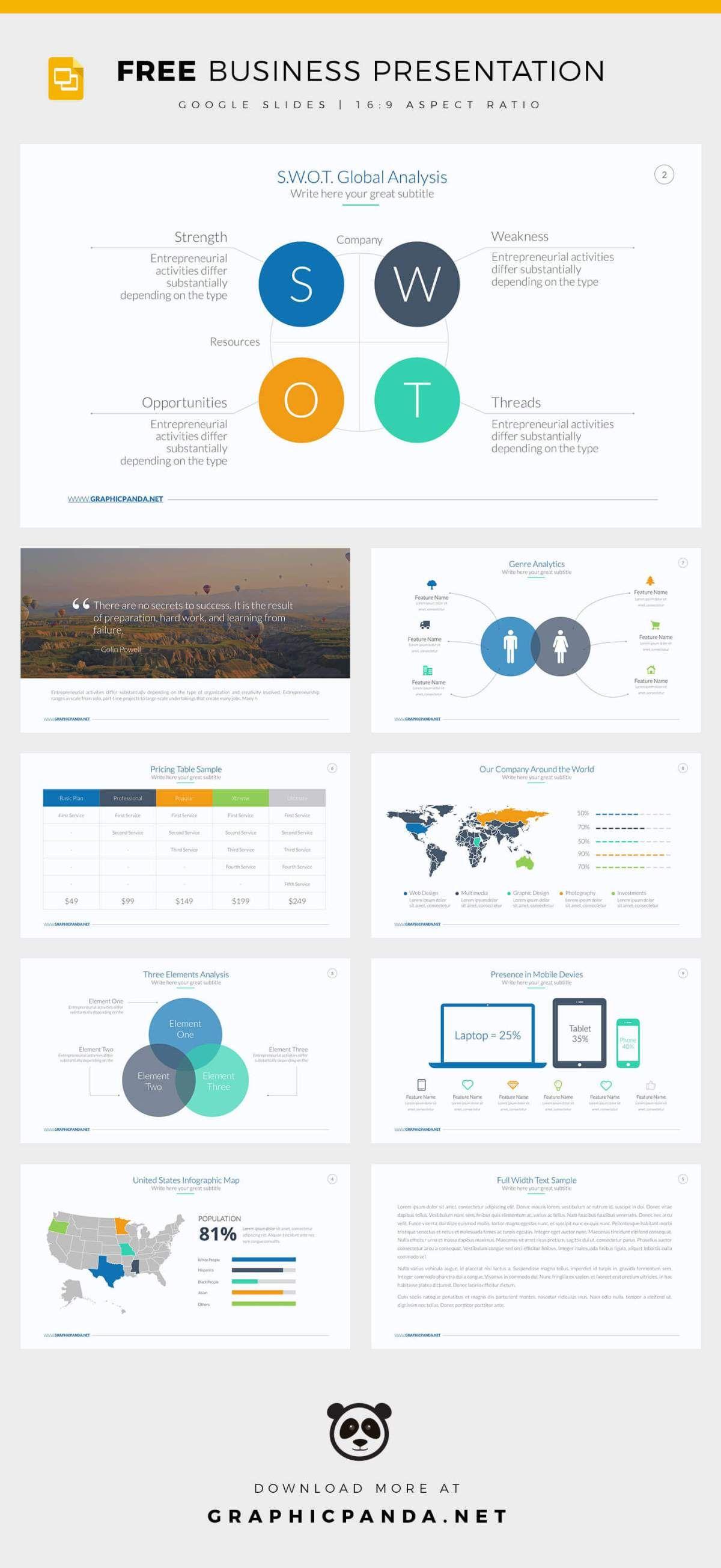 free google slides business powerpoint templates. Black Bedroom Furniture Sets. Home Design Ideas