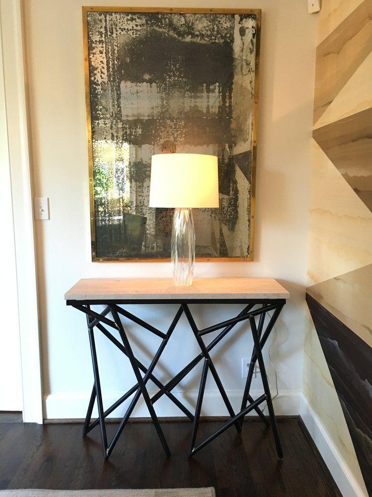 Beautiful Josh Utsey Designs Custom Furniture Charlotte Nc Metal Console Table.JPG