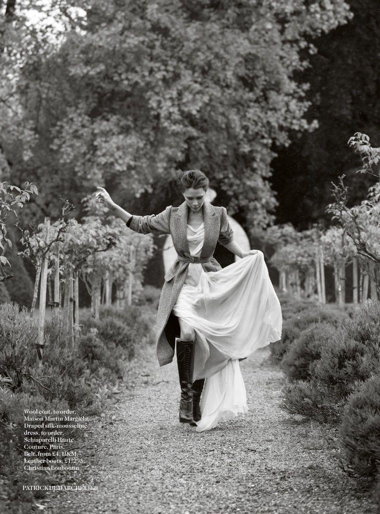 Vogue UK August 2014   Victoria Beckham by Patrick Demarchelier