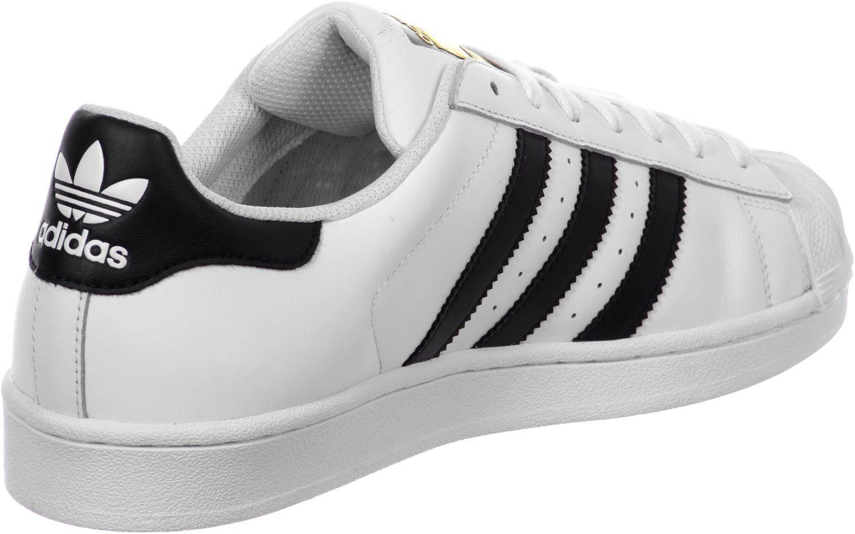 Adidas Superstar J W schoenen wit zwart   Adidas schoenen ...