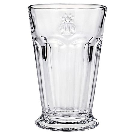 Showcasing a playful bee motif, this charming drinking glass is ideal for serving freshly-squeezed juice or crisp cocktails.     Produc...
