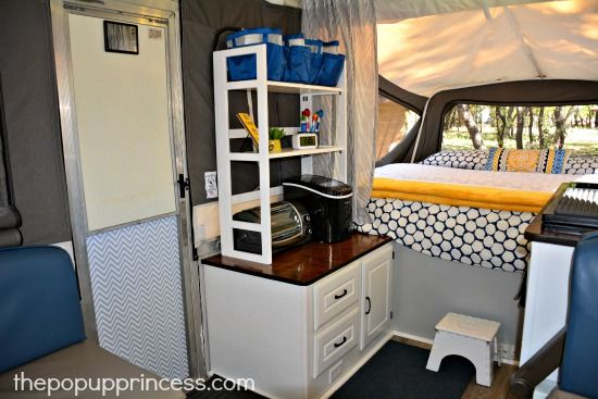Lisa Evano S Pop Up Camper Makeover Remodeled Campers Camper