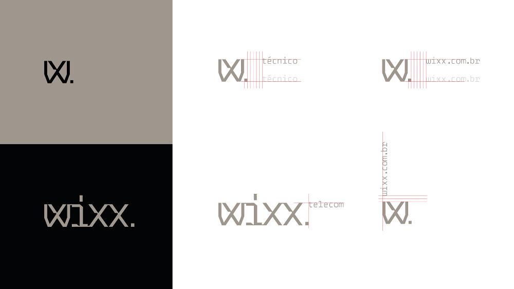 Wixx Telecom On Behance Mit Bildern Archiv Logos