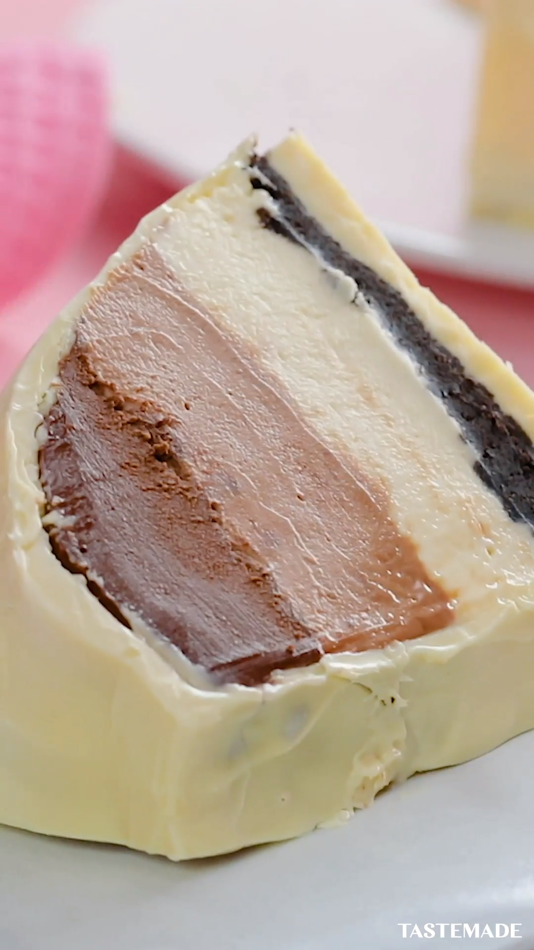 This just in: A bonbon cake tastes like velvet chocolate and is worth every single bite.