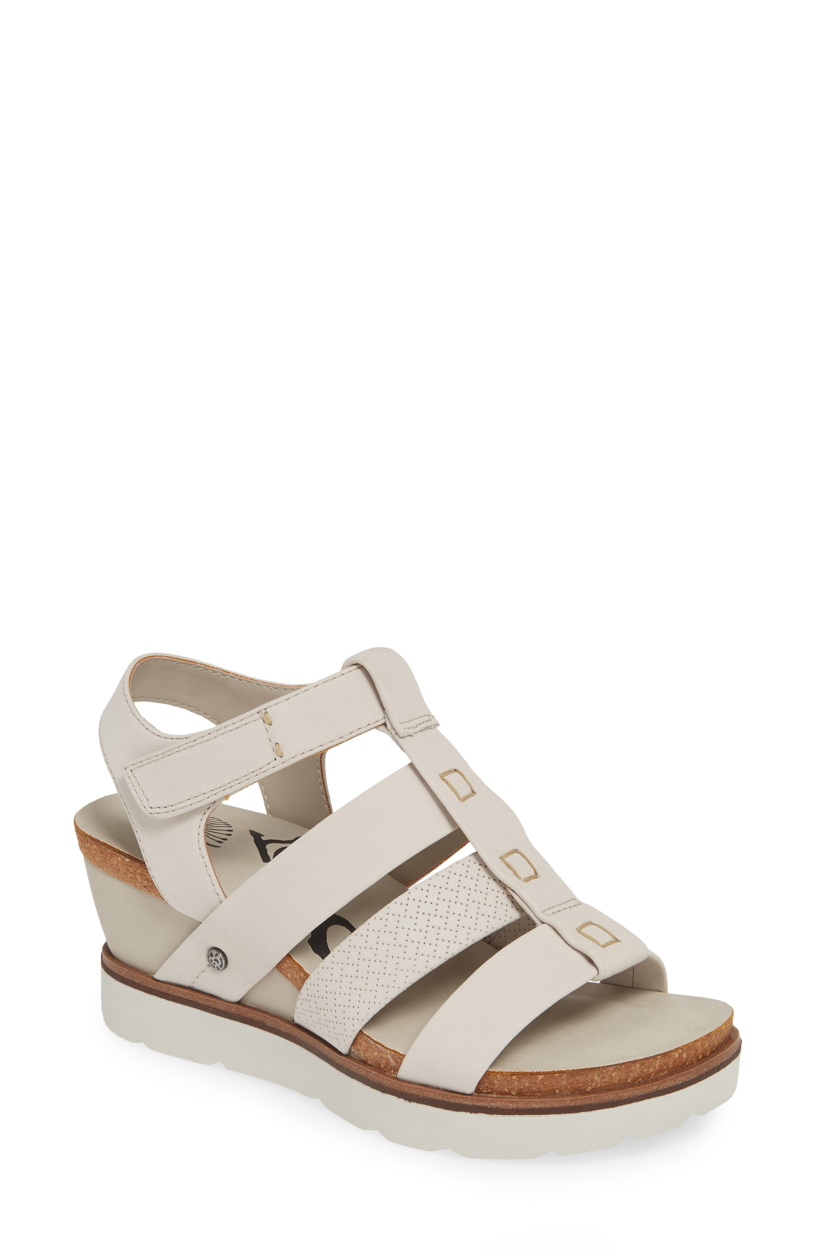 0a01b5a41a Women's Otbt New Moon Wedge Sandal, Size 5.5 M - Grey in 2019 ...