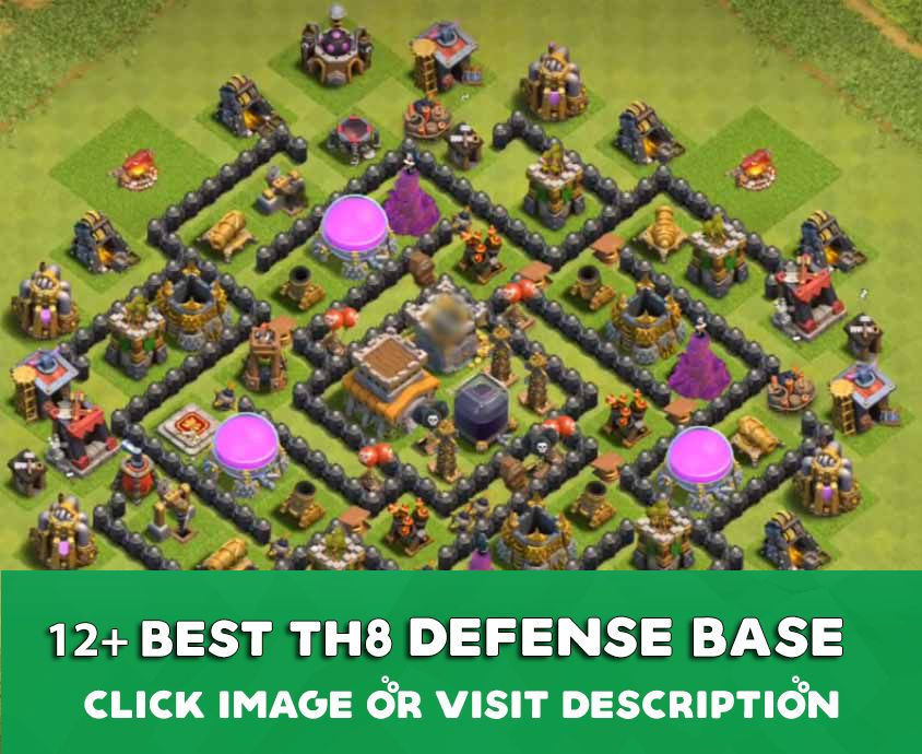 Defence Coc Th 8 Base 9