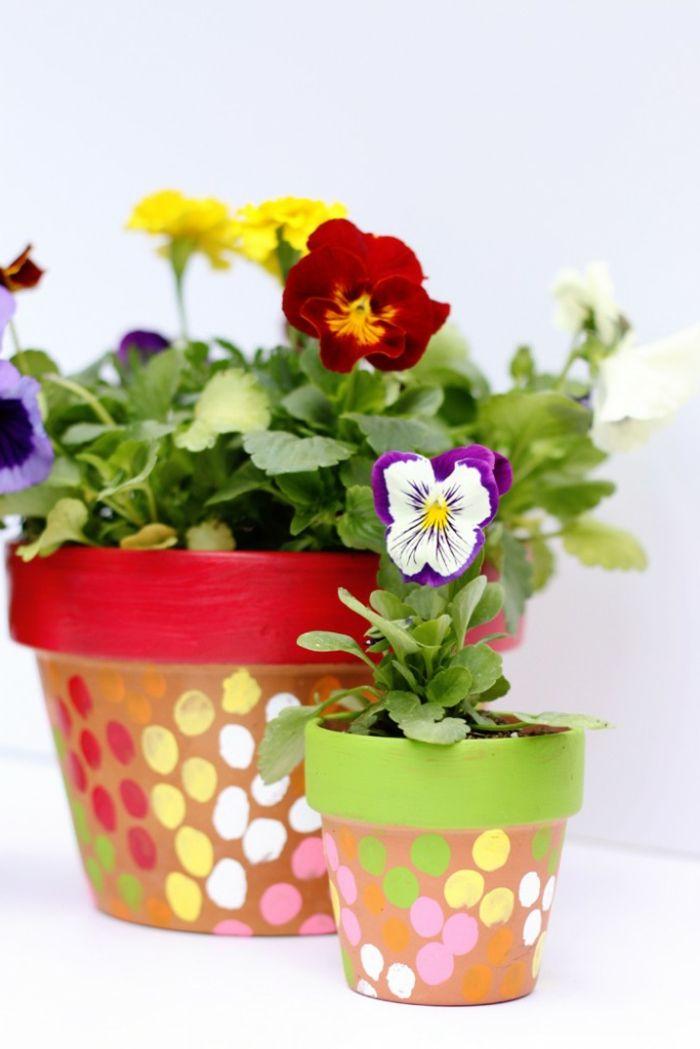 ▷ 1001+ Ideen für Blumentöpfe dekorieren mit Stil und Lust ...