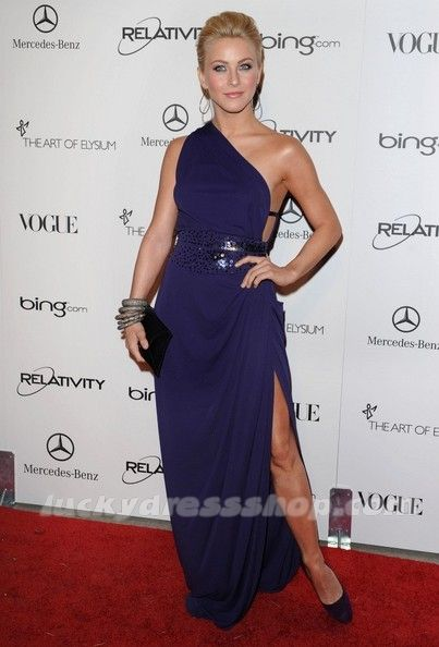 Julianne Hough Dress at The Art of Elysium's 4rd Annual Gala (MF649D)