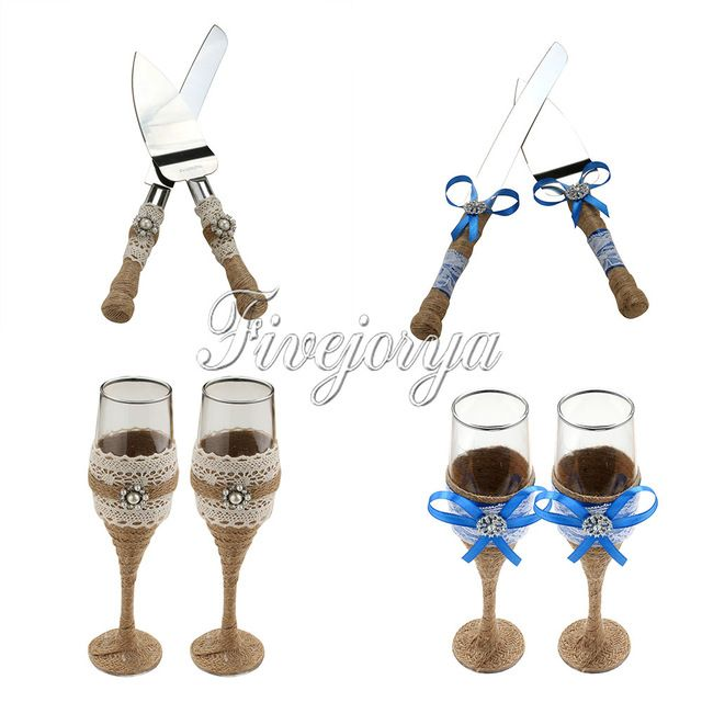 Cheap Burlap Wedding Buy Quality Cake Knife Directly From China Toast Suppliers Toasting Glasses Wine Cup
