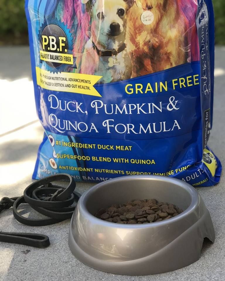 Lucy Pet Duck Pumpkin And Quinoa Grain Free Formula Features Our