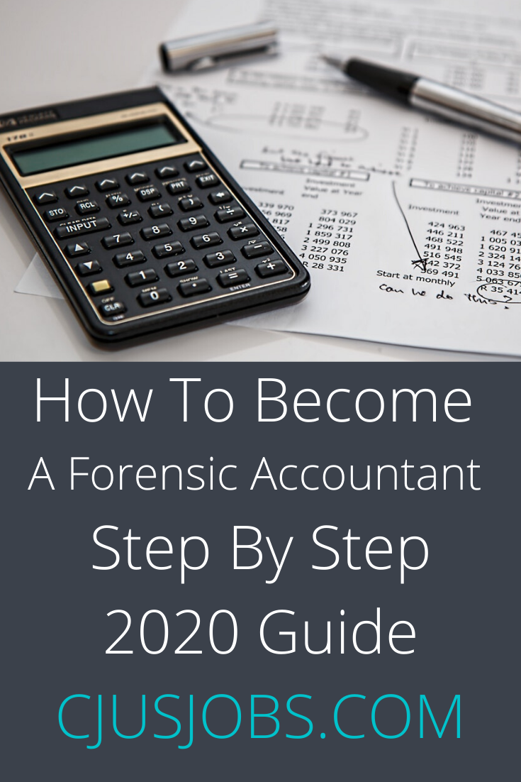 How To A Forensic Accountant Step By Step 2020
