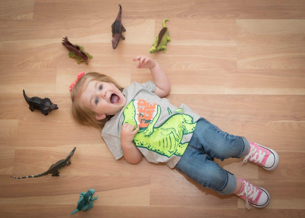 Big Bow Baby Dinosaurs