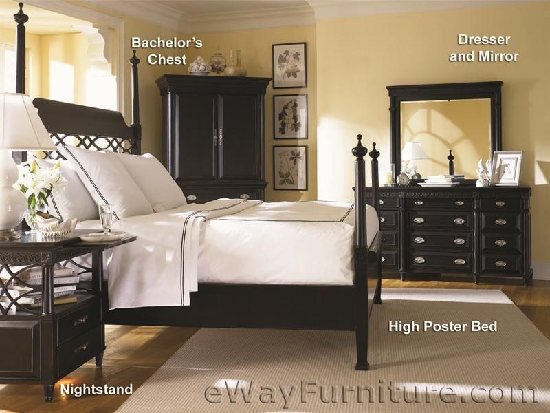 American Federal Black Poster Bedroom Set bedrooms in 2018