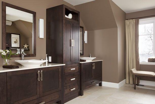 Salle de bains -Vanité et armoires | Salle de bains | Laundry in ...