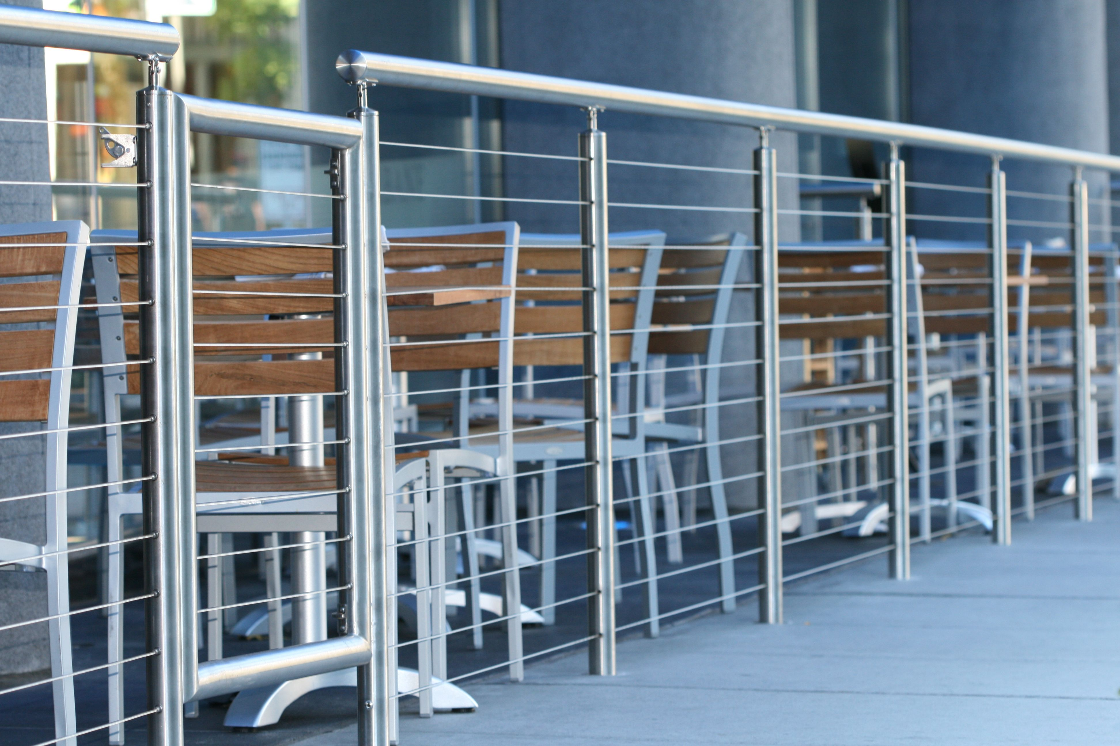 I love this pic of our round stainless steel hand rail. Would you ...