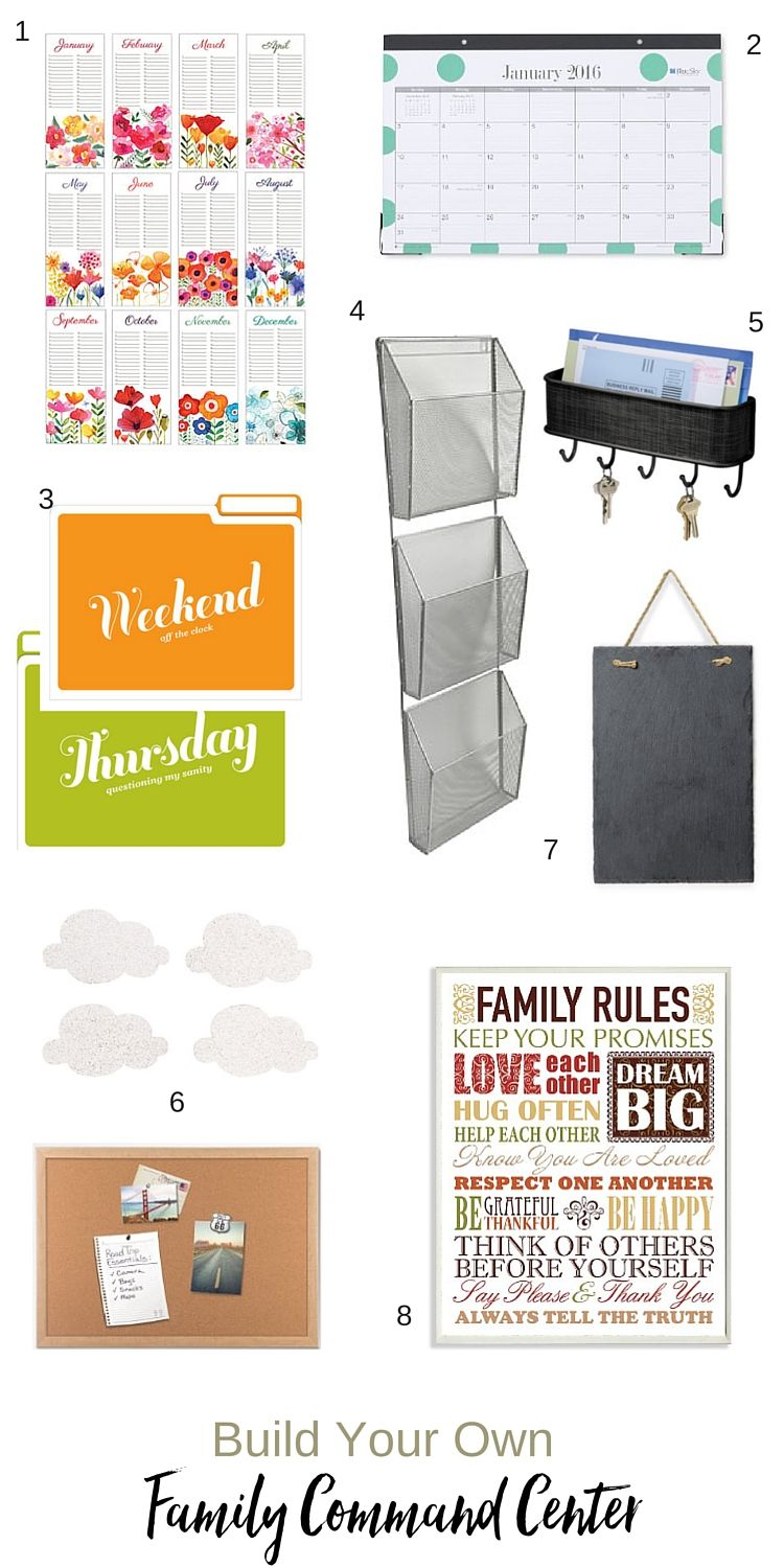 Friday Favorites #8 (Home Command Center) | Ashley LaMar